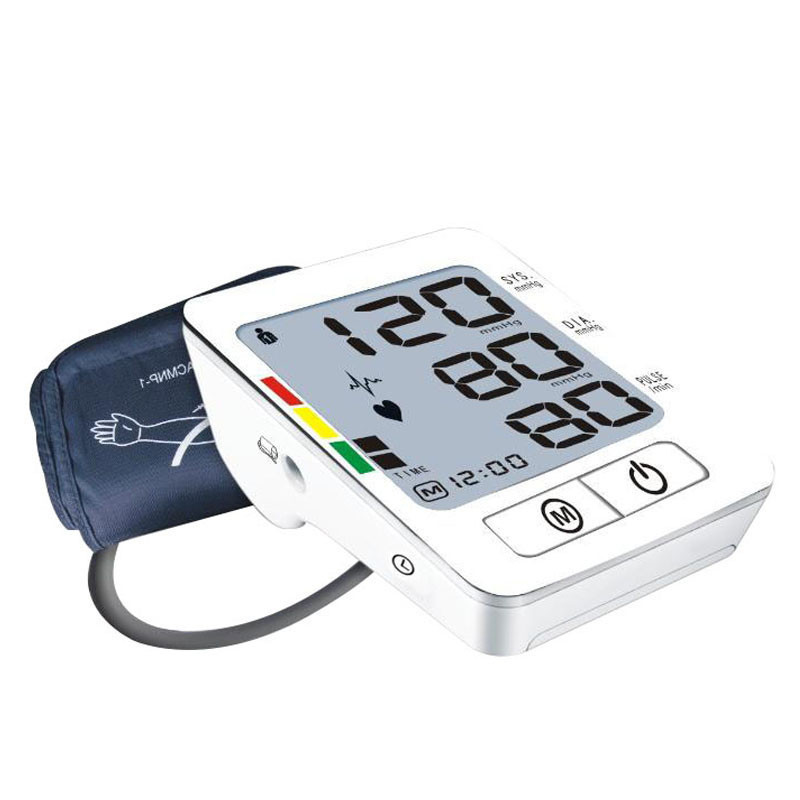 Digital Arm Blood Pressure meter Automatic Pulse Monitor Sphygmomanometer font b health b font font b