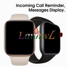 Bluetooth smart watch IWO 8 1 1 SmartWatch 44mm skrzynka dla Apple iOS Android ekg serca krokomierz IWO 5 aktualizacji tanie tanio Passometer Uśpienia tracker Wiadomość przypomnienie Przypomnienie połączeń Odpowiedź połączeń Wybierania połączeń