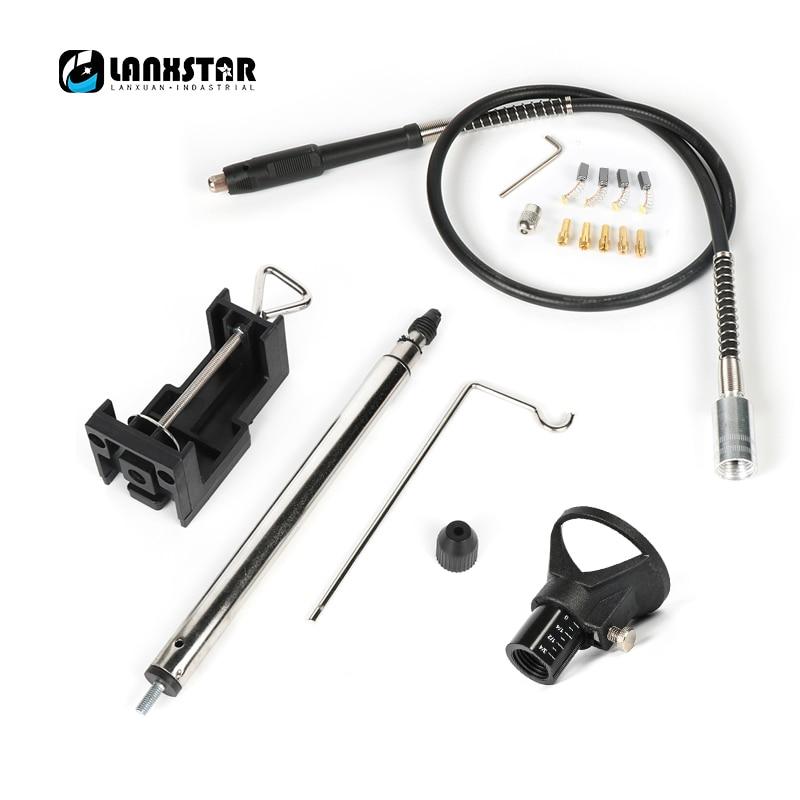 DREMEL Drill Lock Nut,4pcs A carbon brush,5pcs Copper chuck,Flexible Shaft pen,Electric drill hook,Polish Locator mata bor amplas