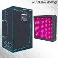 Mars II 900 W светодиодный полный спектр светать + 1680D Box 120x120x200 см расти палатку для Hydropocics