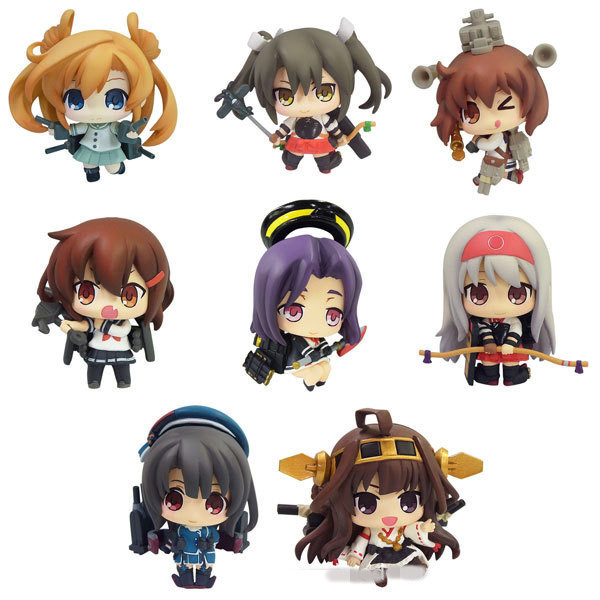 9pcs/set Kantai Collection Anime Action Figure PVC Collection Model toys brinquedos for christmas gift free shipping