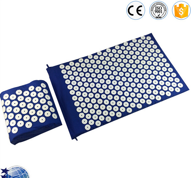 Health Care Massager Yoga Mat Acupuncture Spike Pad  Massage Mat Acupressure Cusion Relieve Stress Pain With Pillow концентрат health