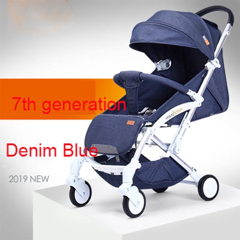 2019 nouveau chariot automatique léger, léger pliant, assis et inclinable, pliage automatique, 0-5 ans chariot de bébé - 5