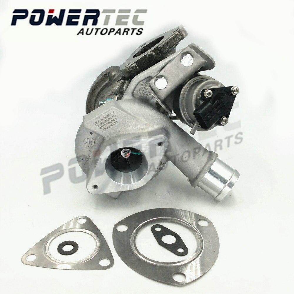 Full Turbo For Ford Ranger 2.2 PUMA - TD03 TD03L4 Turbine Turbolader 49131-06320 49131-06300 Complete Turbocharger 49131-06340
