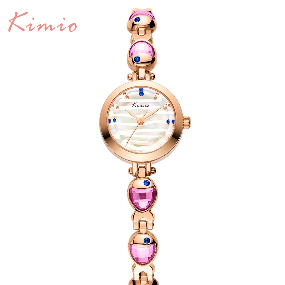 2018 New Kimio Brand Woman watches Ladies Dress Crystal Clock Elegant Bracelet watch Luxury Women Rhinestone Diamond Watches kimio brand diamond rhinestone rose gold bracelet women watches fashion woman watch luxury quartz watch ladies wristwatch clock