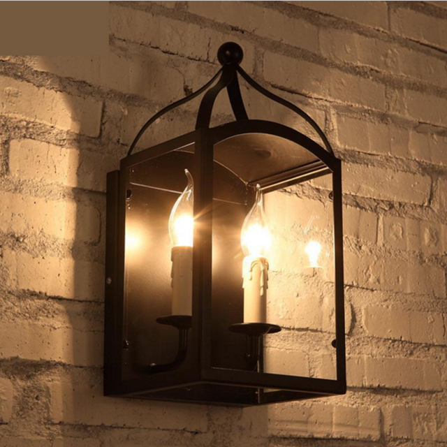 led wandlamp terras en tuin decoratie licht bar restaurant wandkandelaar led verlichting slaapkamer bed wandlamp coffe
