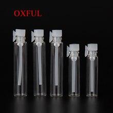 5 шт стеклянная мини бутылка для парфюма 1 мл 2