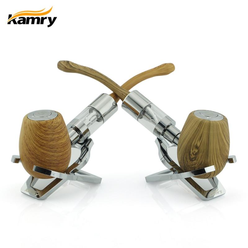 Original K1000 E PIPE Mekanisk Mod Vape kit med 3,0ml atomizer Kamry Brand Wooden E PIPES cigarett med stor ånga som trä