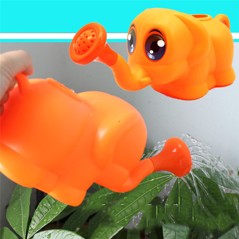Dabbling Toy Colorful Cartoon Rubber Elephant Toys Summer Baby Bath Shower Toys Used on the beach, bathing or watering JE27#F