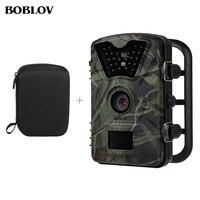 BOBLOV CT008 12MP 1080 P HD Chasse Scounting Caméra Infrarouge IR LED Vidéo Enregistrement Jeu Trail Cam de Sécurité de Transport Gratuit sac