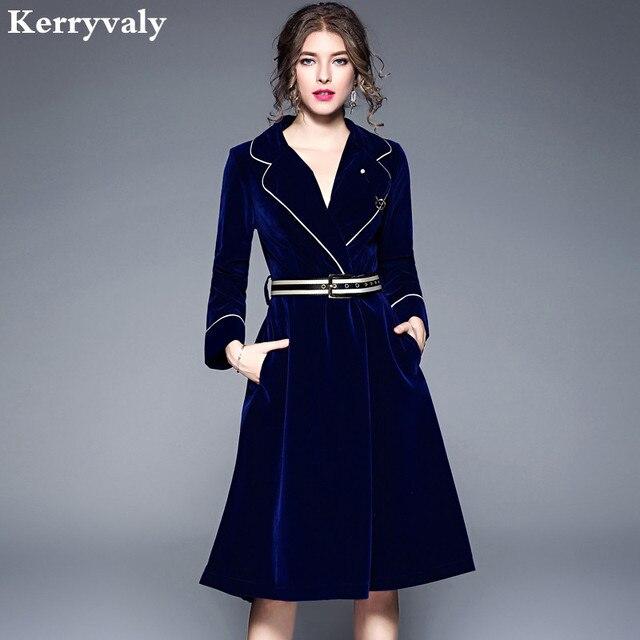 Velvet Winter Dress