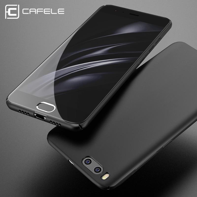 Cafele жесткий чехол для Xiaomi MI6 сзади защитить кожу ультра тонкий Анти-отпечатков пальцев микро-Скраб чехол для телефона xiaomi MI5s плюс