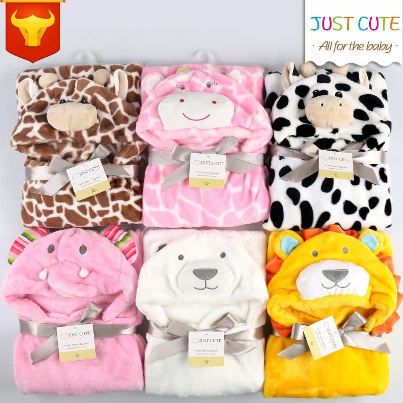Baby Blankets Neonatal Hold Flannel Hooded Blanket Swaddling For Toddlers Infant Envelope For Newborns Hooded Bathrobe