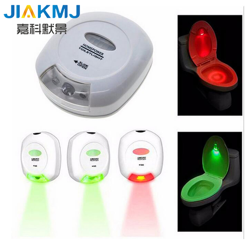 New Exotic Lamp Intelligent Body Sensor Toilet Toilet Sensor Lamp / Bathroom LED Creative Night Light