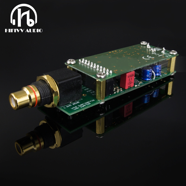 HiFi USB decoder card Amanero Combo384 USB to RCA Coaxial output USB amplifier DAC Digital interface