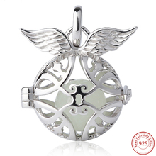 Free Shipping New Arrival Hot Selling Sterling Silver Angel Fit Authentic European charm silver 925 original silver jewelry gift цена