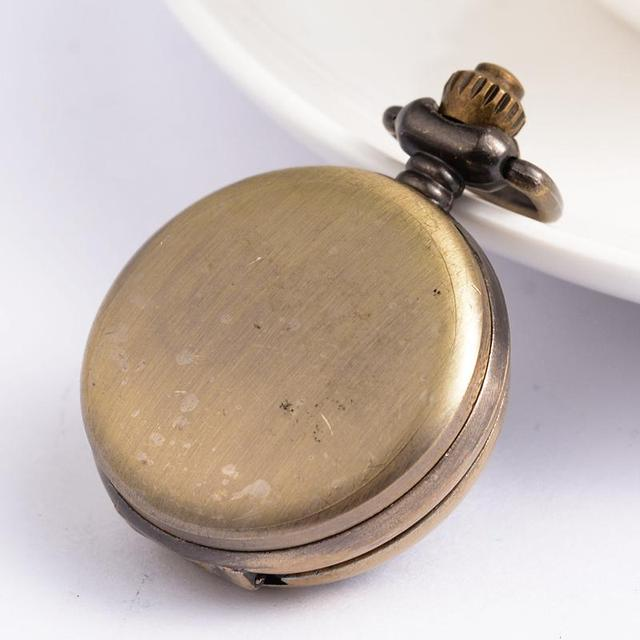 10pcs Antique Bronze Flat Round Alloy Watch Heads,40x29.5x12mm, Hole: 8x2mm, fit for 23mm in diameter photo