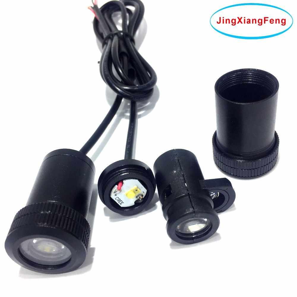 JingXiangFeng Чехол для Yamaha 12 v-24 V Добро пожаловать на дверной фонарь 3D Лазерная лампа Ghost Shadow светодиодный автомобильный логотип проектора автомобиля декоративное