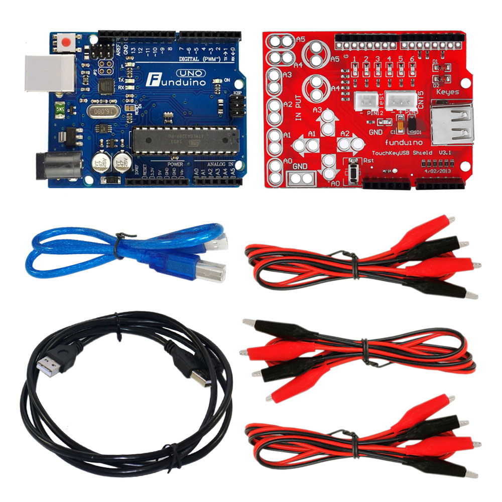 Makey Touch Kit Analog Touch Keyboard Suite Key USB Board ARDUINOS