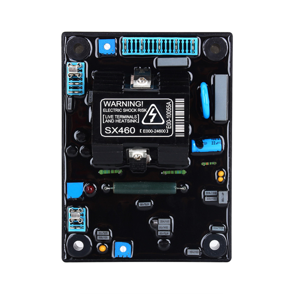 Sx460 5pcs Top Quality Black Automatic Voltage Regulator Avr Wiring Diagram For Generator Fast Shipping In Parts Accessories From Home Improvement On