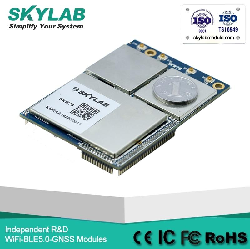 SKYLAB MT7621A MT7603E MT7612E Dual-band 4T4R WAN / LAN / USB / I2C / I2S / SD 2.4G 5,8 G 1,2 GB / s 802,11a / b / g / n / ac AP modul WiFi
