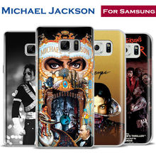 Michael Jackson MJ king of pop Phone Case Cover For Samsung Galaxy S4 S5 S6 S7 Edge S8 Plus Note 8 2 3 4 5 A5 A710 J5 J7 2017