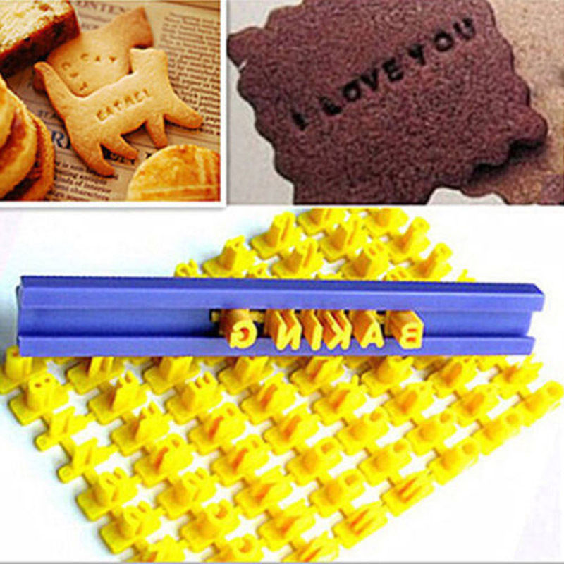 Baking & Pastry Tools Fashion Style Obedience Cookie Mold English Letter Printing Symbol Stamp Biscuit Cookie Cutter Cake Fondant Mold Diy Baking Tools