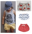 2016 summer style fashion baby bloomers bobo choses high quality Beach pants cotton kawaii ropa boy and girl shorts