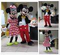 2016 de Alta calidad de la mascota de minnie mouse traje de la mascota del ratón traje de la mascota envío gratis