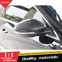 For Volkswagen Passat Styling Carbon Fiber Replament Mirror Covers Carbon Fiber Rear View Mirror Cover Replacement 11 17