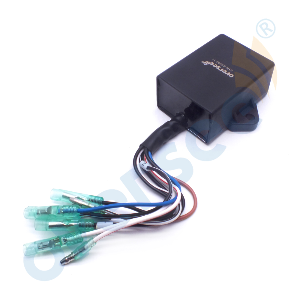 OVERSEE CDI Unit 61N-85540-10-0 or 61N-85540-13-0 For Parsun FOR Yamaha 25HP 30HP 2 stroke Outboard Motor oversee 32900 96371 for 25hp 30hp suzuki outboard cdi unit 1996 1999 25 30hp 32900 963a0 32900 96350 32900 96370
