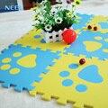 10 pçs/lote 24 estilos de cor jogo do bebê tapete de espuma EVA, puzzle crawling mat & tapete macio para crianças, tapete para bebe 30*30*1 cm