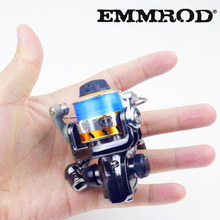 Hot Super MINI100 Technology Fishing Reel 2BB + 1 Bearing Balls Small Spinning Reel Boat Rock Fishing Wheel