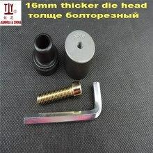 DN16mm 38 г Вес Сварочные части, черная головка, толстая сварочная форма, PPR, PE, PB водопровод горячего расплава стыковой сварки