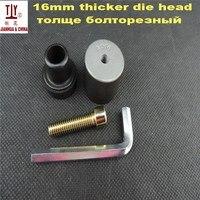 משלוח חינם DN16mm 38g משקל ריתוך חלקי  שחור למות ראש  עבה ריתוך עובש  PPR  PE  PB מים צינור hotmelt התחת ריתוך