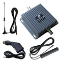 Dual Band 850/1900MHz 3G UMTS Car Amplifier use Mobile Signal Booster GSM Repeater Kit for Vehicle 55db Gain