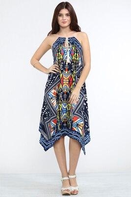 e75ad111d7 Vestido bordado mexicano mujeres tribal imprimir hombro backless sexy vestido  largo para el verano FT082