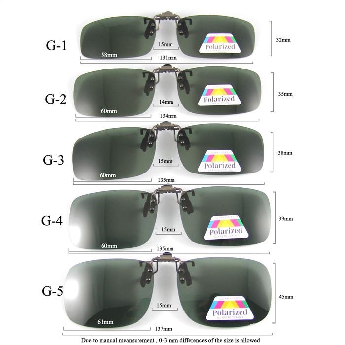 HAO Clip-on Polarized Goggles 1
