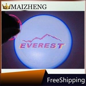 Image 4 - Araba dikiz aynası lazer projektör logosu gölge işık hoşgeldiniz lambası FORD F 150 kenar Explorer Mondeo toros Everest Ranger