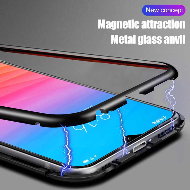 ZNP Магнитный чехол для Xiaomi Redmi Note 7 6 5 Pro закаленное стекло магнитные Чехлы для телефона Redmi 6 Pro Redmi 7 6 6A чехол для телефона