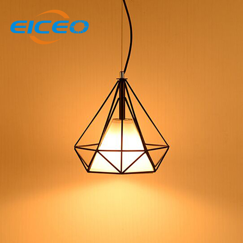 (EICEO) Pendant Lamp Simple Creative Personality Retro Iron Clothing Store Hotel Cafe Restaurant Industry Wind Chandelier Light led fireball chandelier lamp creative personality iron restaurant hotel arcade planet fireworks chandeliers dia 50cm ac220v