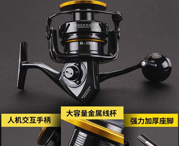 Lurekiller japão molinete de pesca fiação carretel