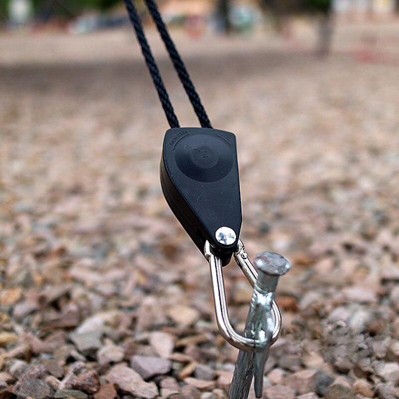 Capaz 1 Pieza Carpa De Nudo Rápido Cuerda De Viento Hebilla Antideslizante Camping Senderismo Gancho De Ajuste Hebillas De Cuerda De Viento