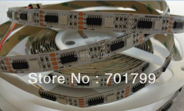 addressable WS2801 DC5V 36pixels with 36ledss/m led digital strip,non-waterproof,5m long