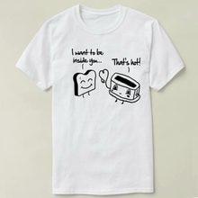 de347673a toast toasty Men Clothes short Sleeve Slim Fit T Shirt Men T-Shirt Casual T  Shirts cmt