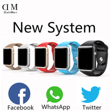 2016 New Bluetooth smart watch brand W8 WristWatch sport Pedometer sim card font b Smartwatch b