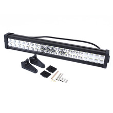 """Externo 120 W 21 """"LEDs Luz Liga Lâmpada de Trabalho Bar Flood Ponto Combo Offroad Luz 4WD Barco"""