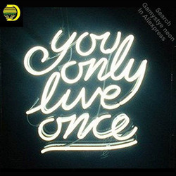 NEON SIGN For You Only Love Once Room display Custom Design Restaurant Shop Light Signs neon signs for sale light up signs VD