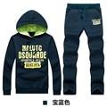 Men's Sportswear Hoodies MenCasual Sweatshirt Male Tracksuit Men Brand Sportswear Man Leisure Outwear Tracksuit Sets 4XL