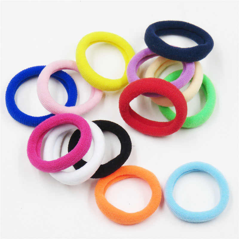 1PCS Small Colorfull Hair Ring Novelty Elastic Hair Bands For Girls Bohemian Scrunchy Fashion Kids Hair Accessories For Women